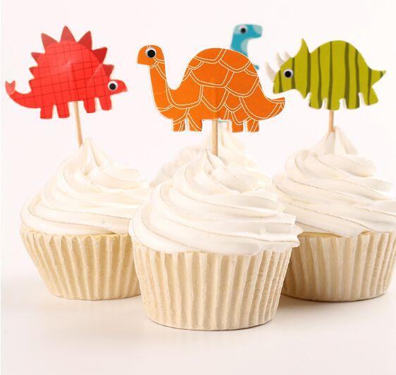 24 шт. динозавров торт ботворезы кекс выборы на день рождения ну вечеринку…