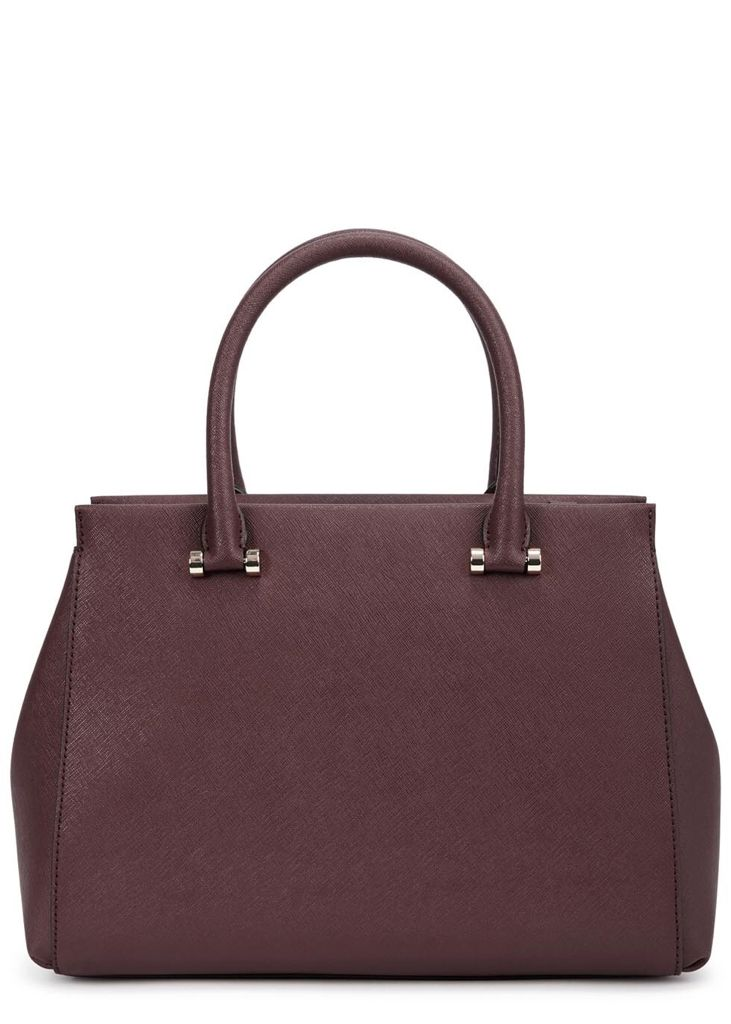 Harvey Nichols - DKNY Bryant Park large burgundy leather tote