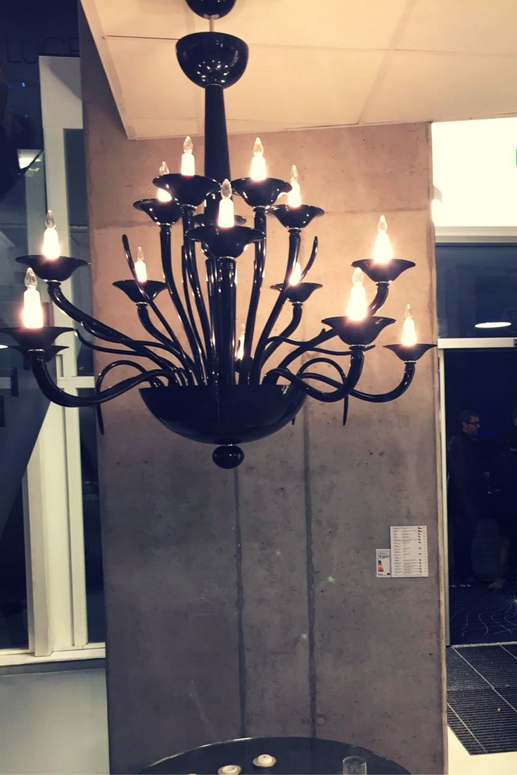 Supension lamp: our Tate, from Molto Luce's anniversary celebration, our Austrian distributor. Lampada a sospensione: la nostra Tate, dai festeggiamenti per l'anniversario di Molto Luce, il nostro distributore austriaco.