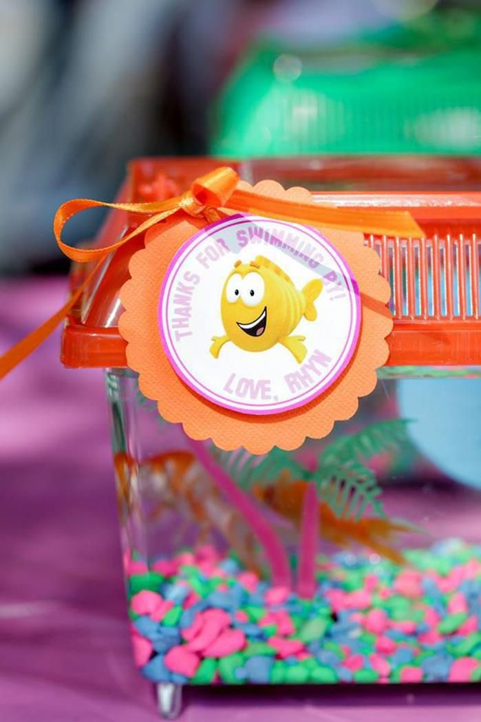 29 best Bubble Guppies Party images on Pinterest ...