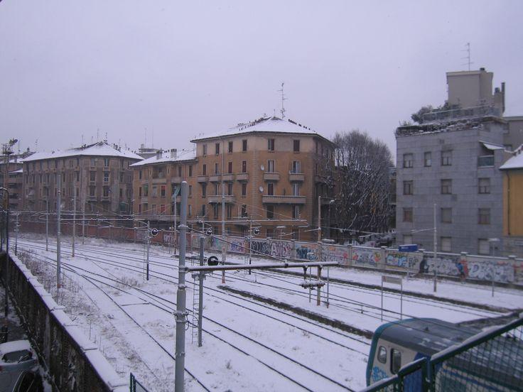 Porta Genova station, Milano, Lombardia
