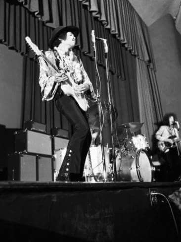 Saturday March 2nd,1968, The Jimi Hendrix Experience Performed Two Shows At Hunter College In New York City.