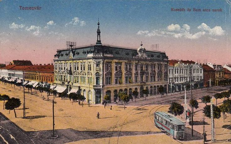 Timişoara - Cartierul Josefin - 1905