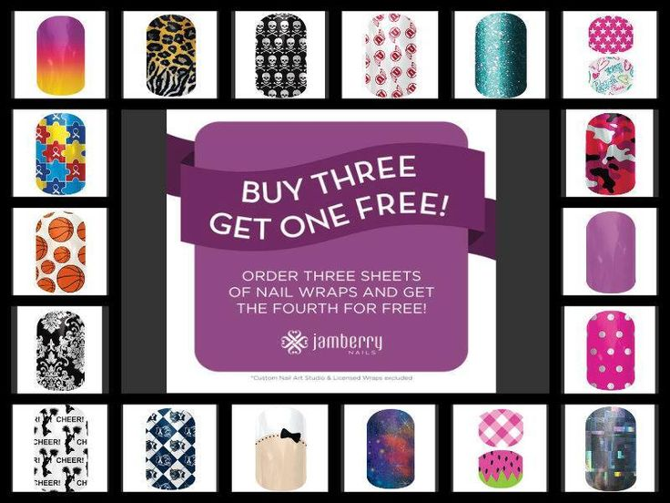 Buy 3 get 1 free.... While it lasts!!