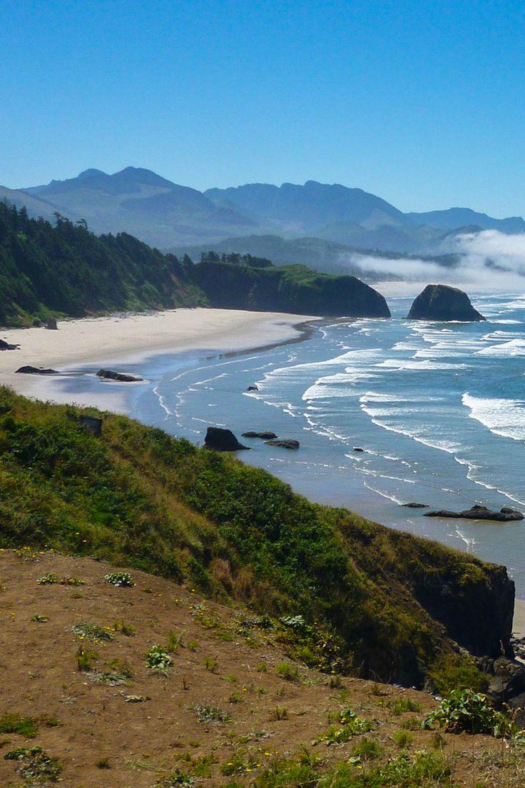 Beautiful coastal landscape in Oregon, USA.