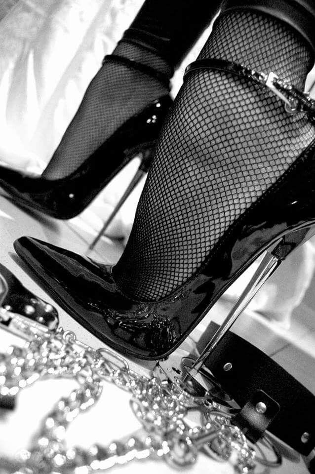 Femdom high heel domination