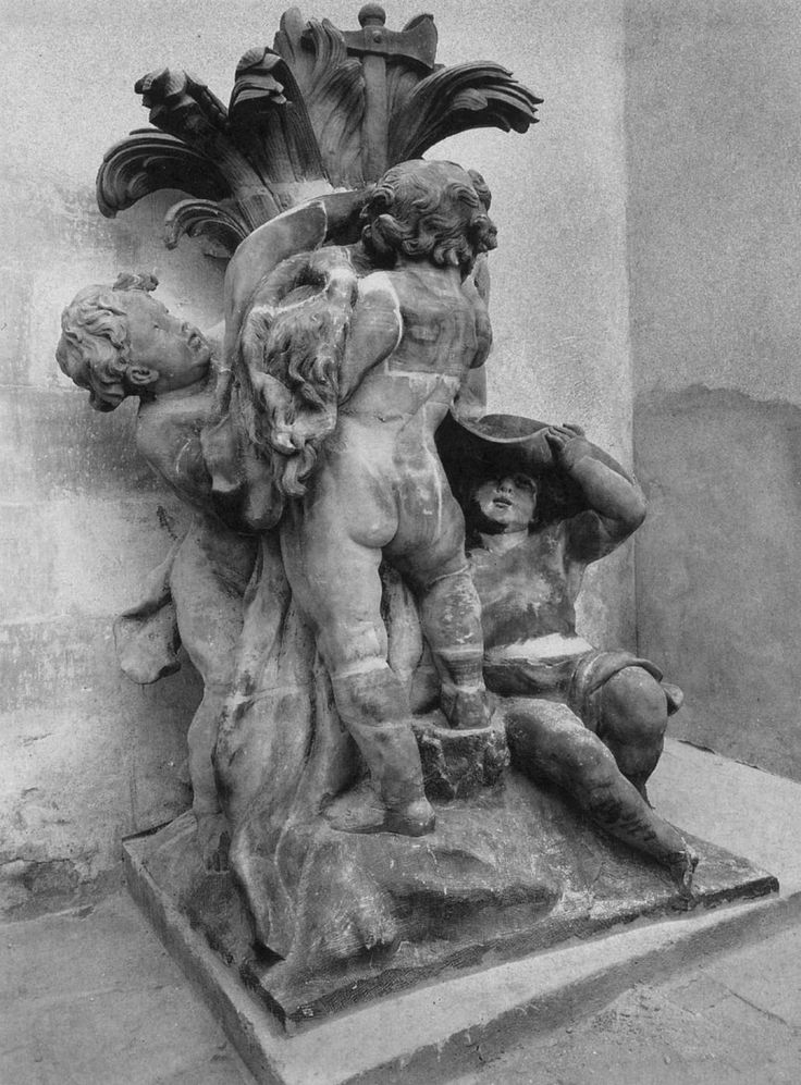 Robert Le Lorrain, Group of Children 1735/ 1738 Stone Château de Rohan, Strasbourg
