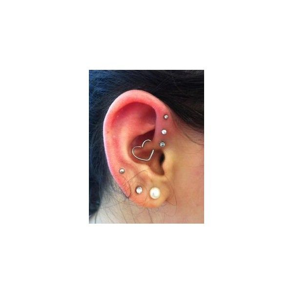 Spiderbite Piercings ❤ liked on Polyvore featuring ear piercing and piercing