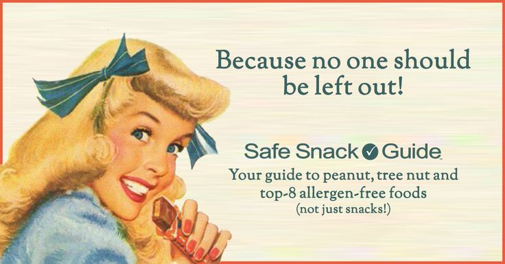 Update to Safe Snack Guide and Allergence: April 20, 2017