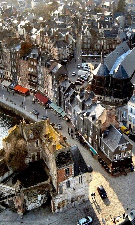 Normandy... To know I've walked this route and went in that old 18th century wooden church is amazing!