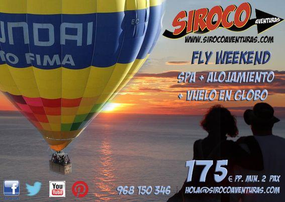 #Fly Weekend en la #Region de Murcia con #Siroco Aventuras. #Turismo Activo, #La Azohía, #Vuelos en Globo