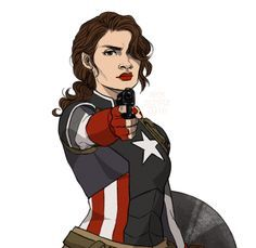 agent carter and captain america fanart - Google Search