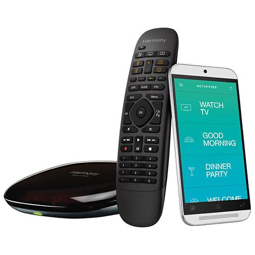 Customize every connected device in your home with Logitech's Harmony Home Control. Integrating lights, locks, blinds, thermostats, sensors, entertainment devices, and more for control from your Harmony remote or mobile app, you c... Free shipping on orders over $20.