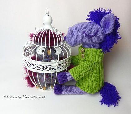 Игрушки животные, ручной работы. Ярмарка Мастеров - ручная работа Ночная сова Светлетта. Handmade.