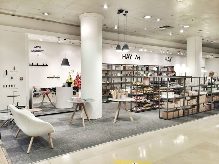 we made it the first uk hay shop hay mini market is officially open selfridges londonhay designshowroom ideasconvenience storeretail - Retail Design Ideas