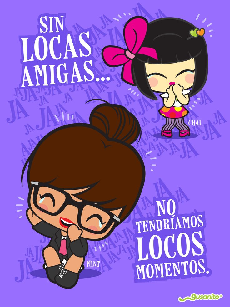 Amigas locas | MINT & CHAI Gusanito.com