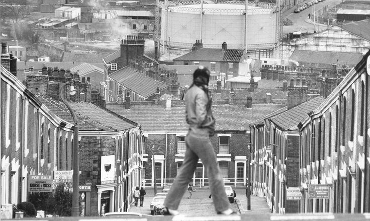 Blackburn in the 1980s. Photograph: Don McPhee.  The Lancashire town has topped a table comparing wages with the cost of living and the local job market. Fashion designer Wayne Hemingway explains why his hometown deserves its latest accolade after years of industrial blight and neglect