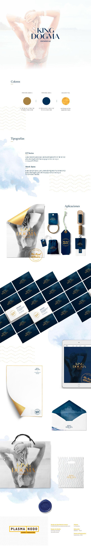 """Check out my @Behance project: """"King Dogma Swimwear - Identidad de marca"""" https://www.behance.net/gallery/44438417/King-Dogma-Swimwear-Identidad-de-marca  #identidad #marca #swimwear #gold #elegant #diseño #logo"""