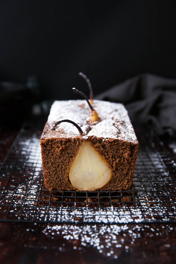 Drunken Pear Ginger Bread
