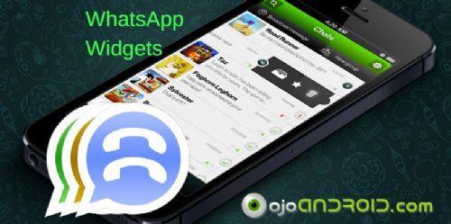Widgets para WhatsApp es una aplicación para Android que permite usar tu WhatsApp desde la pantalla de inicio y sin necesidad de entrar a la aplicación.