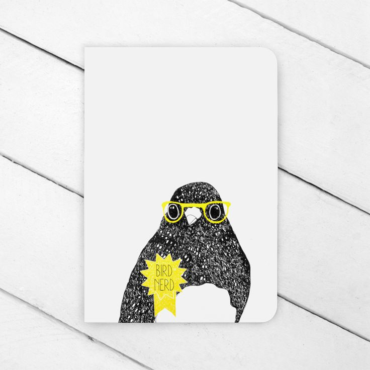 Image of Bird Nerd Greeting Card