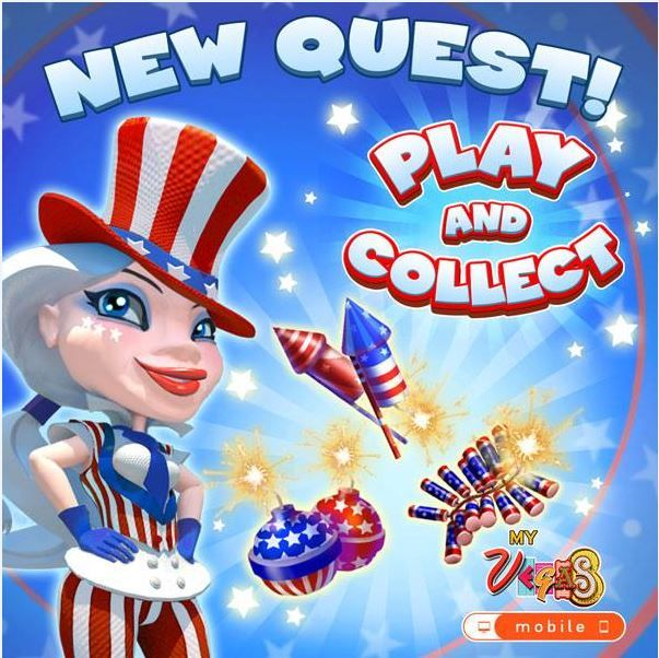 MYVEGAS FREE CHIPS MOBILE CODES COLLECTOR [JULY 2016