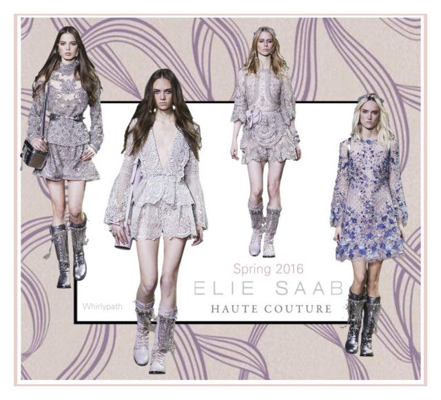 Elie Saab Spring Couture 2016! by whirlypath on Polyvore featuring Brewster Home Fashions and Elie Saab