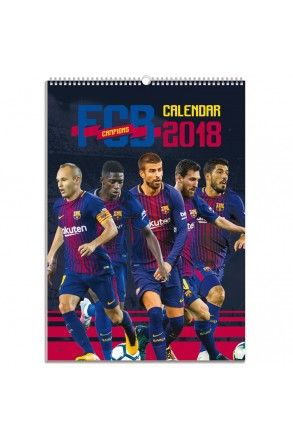 Barcelona Official Calendar 2018