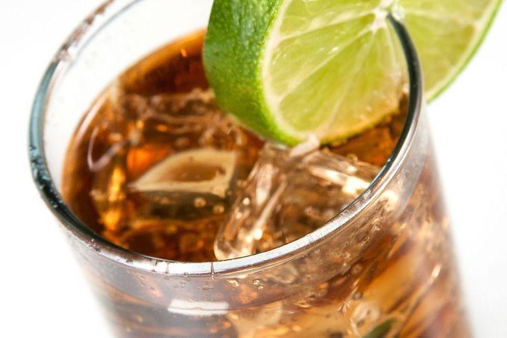 Cuba Libre Mixed Drink
