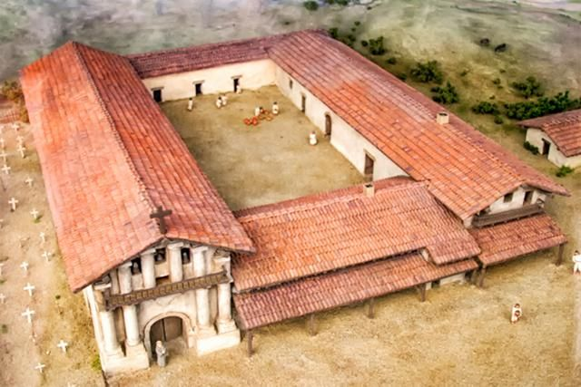 Quick Guide to Mission San Francisco de Asis: for Visitors and Students: Mission San Francisco de Asis Model Picture
