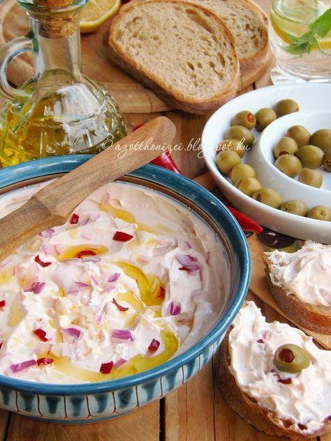 Az otthon ízei: Tirokafteri - csípős fetakrém