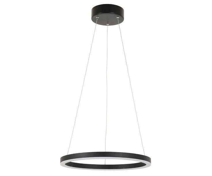 LEDlux Circa Ring 1200 Lumen Dimmable Pendant in Black