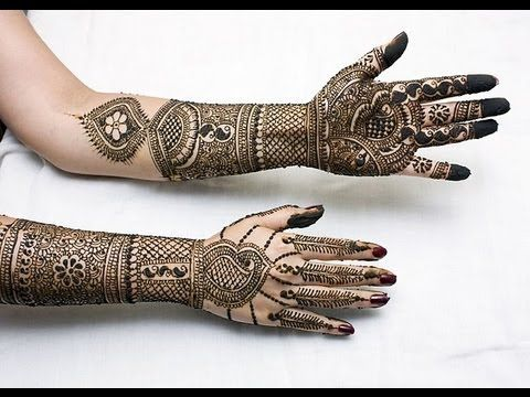 Henna DESIGNS for Hand Indian Arabic Pakistani bridal henna design STEP BY STEP
