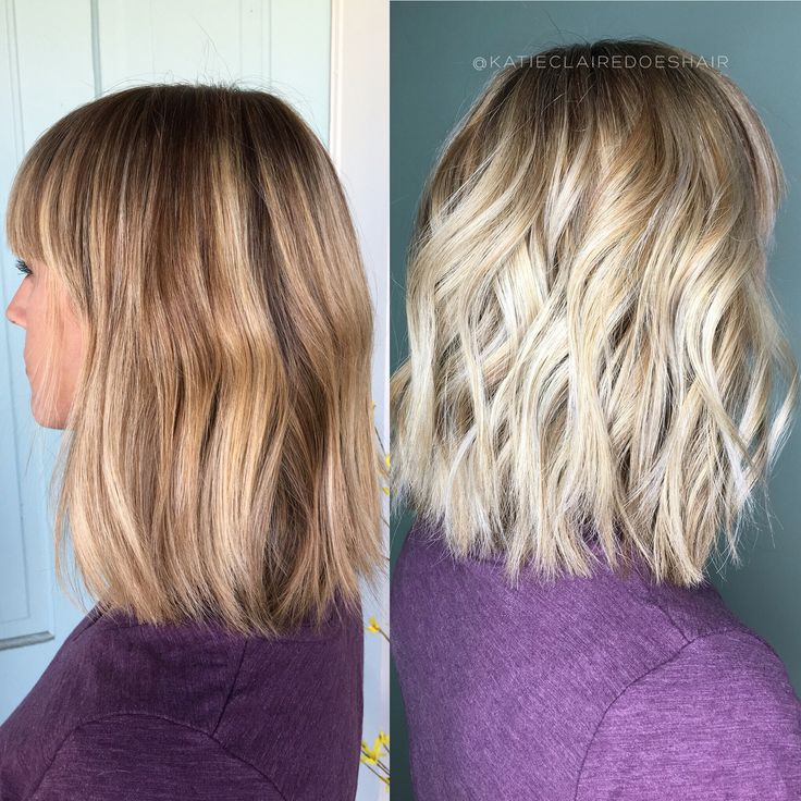534 best pretty pretty images on pinterest brown balayage hair foil ayage for a natural ash blonde tone hair color modern salon pmusecretfo Gallery