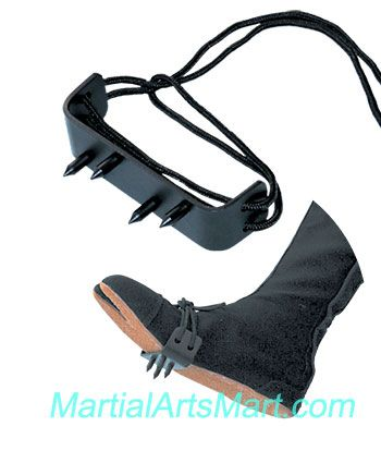 Ninja weapon - Ninja Foot Spike http://m.martialartsmart.com/weapons-ninja-gear.html