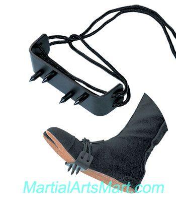 Ninja weapon - Ninja Foot Spike http://m.martialartsmart.com/weapons-ninja-gear.html
