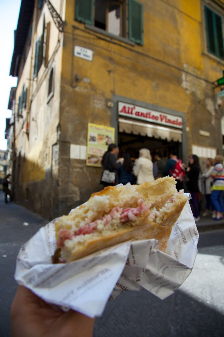 Florence, Italy - All'Antico Vinaio. One of the best panini. Go with an empty stomach. If you don't know what to order, just ask for a recommendation; do get something with salami.