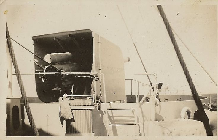 "4"" gun HMS Freesia http://theflowerclasscorvetteforums.yuku.com/topic/951/HMS-Freesia-Huge-Collection-of-Images#.VKcYwXuAWgg"