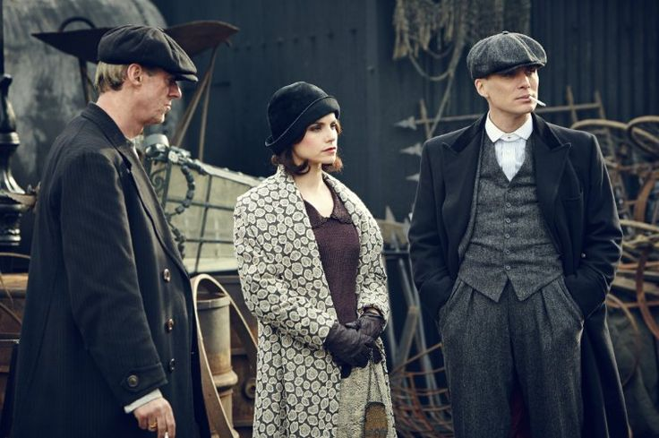 Cillian Murphy and Charlotte Riley in Peaky Blinders (2013)