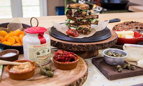 "Home & Family - Recipes - Eric Greenspan's ""The Champ"" Sandwich 