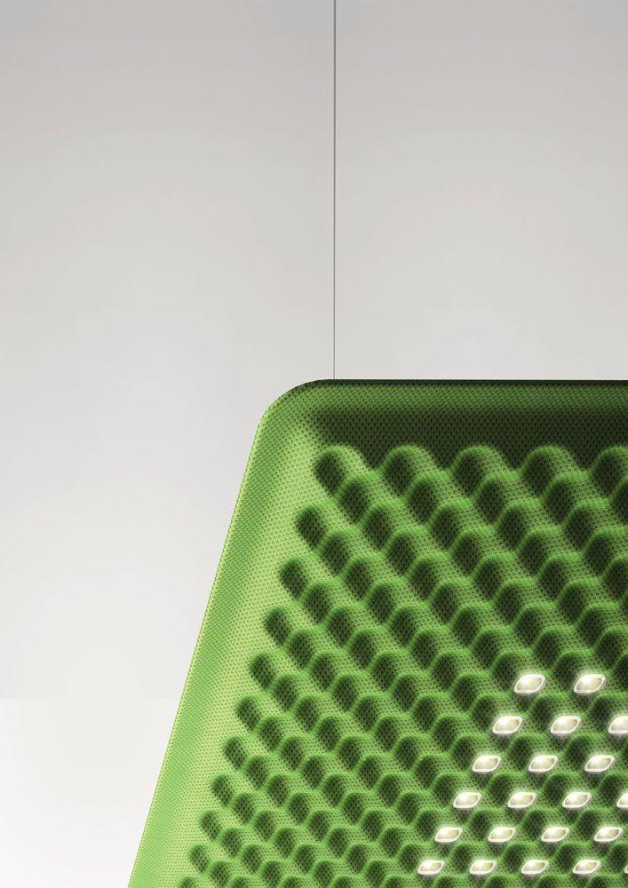 CMF We Like Lamp Fabric Green Texture Embossed Debossed At