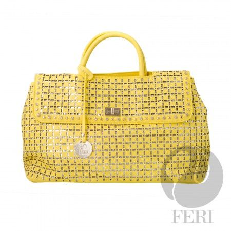 Global Wealth Trade Corporation - FERI Designer Lines.  FERI Ivana handbag #chic #fashion #ladies