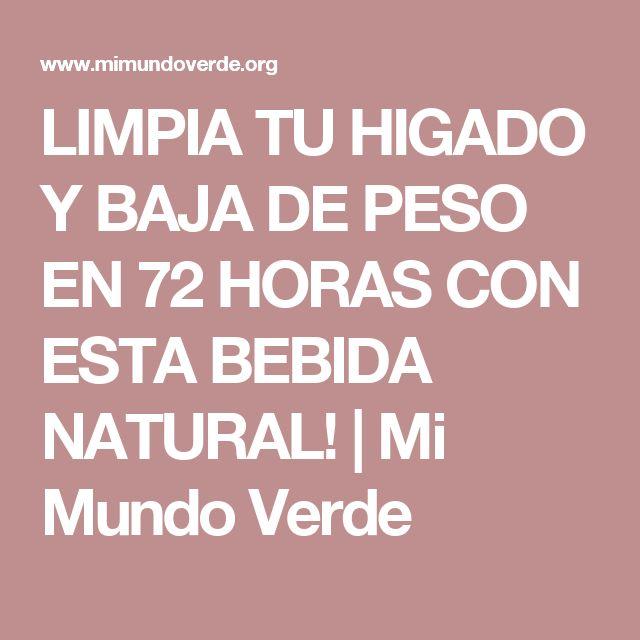 LIMPIA TU HIGADO Y BAJA DE PESO EN 72 HORAS CON ESTA BEBIDA NATURAL!   Mi Mundo Verde