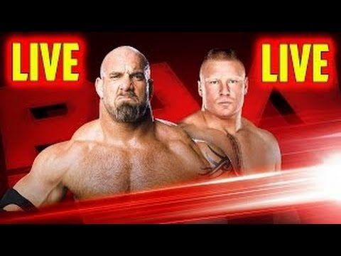 Gold Berg vs brock lesner | 2016| Monday Night Raw | Live