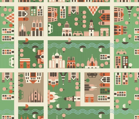 Any fabric with urban planning themes is fabric I can get behind.