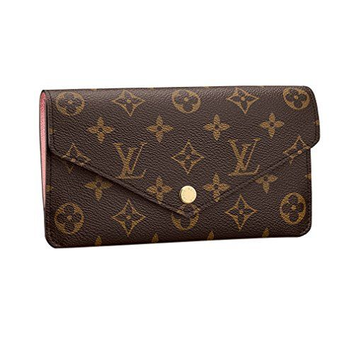 6304c6b6634e9 Louis Vuitton Monogram Canvas Jeanne Wallet M62203 Rose Balleria Made in  France