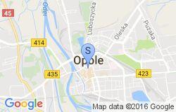 Mapa Opole
