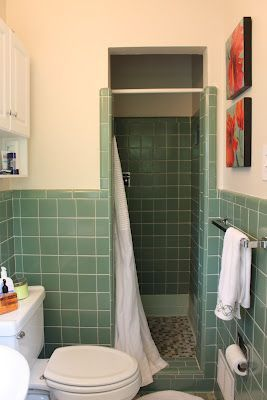 Best 25 1950s bathroom ideas on pinterest 1950s home - Diy bathroom remodel before and after ...