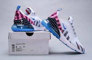 6c2025685363a9 Piet Parra x Nike Air Max 270 White Multi-Color AH8050 019 Women s Men s  Casual Shoes