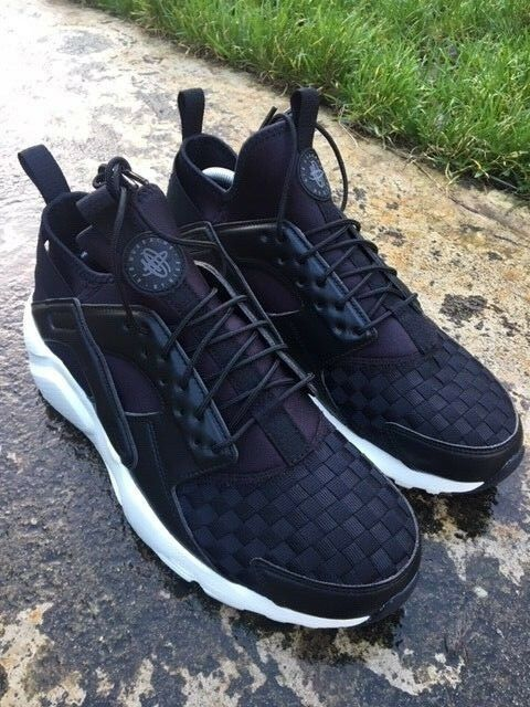 9f0a5e5de91 Nike Air Huarache Run Ultra SE SIze 10 UK Men Trainer EU 45 Black  875841-008 NEW 823233869196   eBay